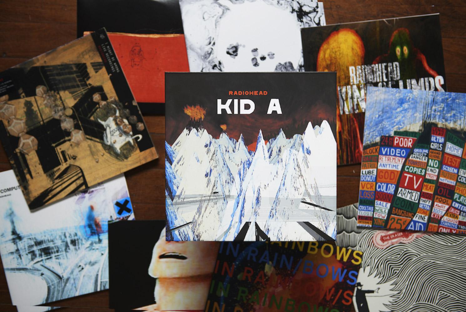 radiohead cds